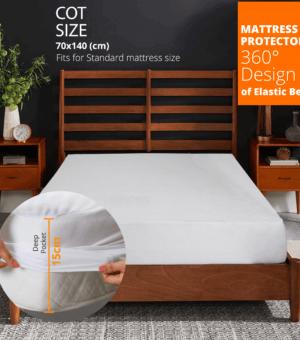 Cot size mattress Protector