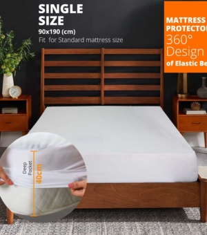 Single Cover Mattress Protector Sheet