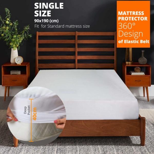 Single Cover Mattress Protector Sheet