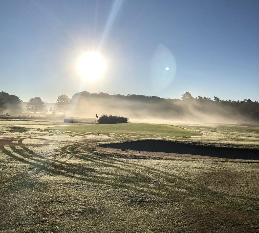 Mere Creek Golf Course, in Brunswick, ME