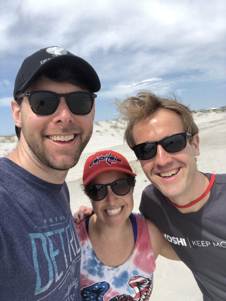 me, Sally, and Ryan