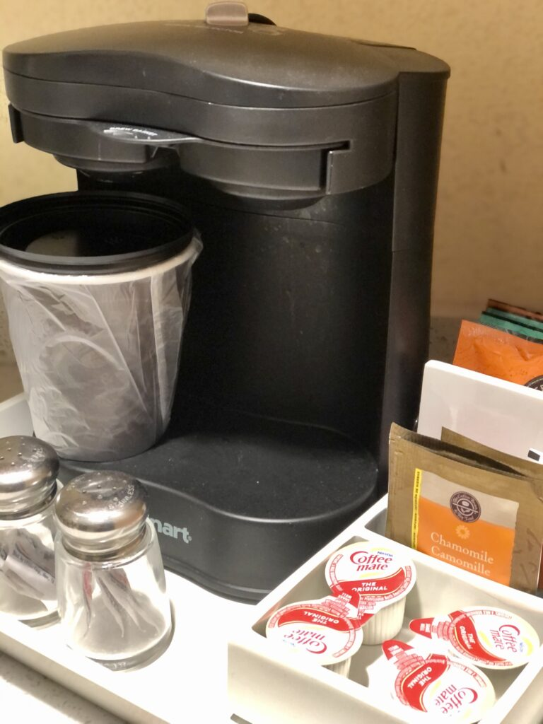 hotel coffee machine