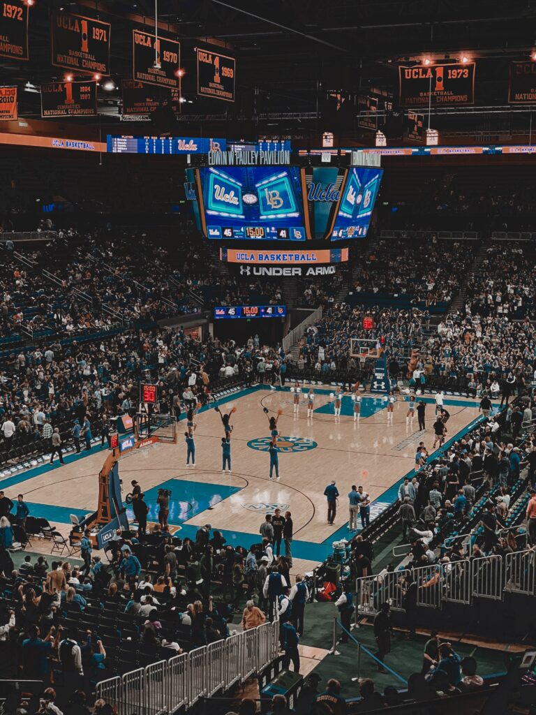 UCLA's basketball arena, Pauley Pavilion