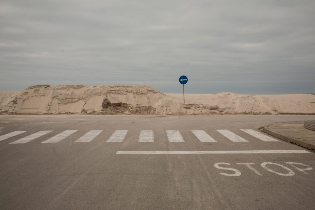 That photo of a beautiful stop sign in Portugal comes via Kristaps Grundsteins and Unsplash.
