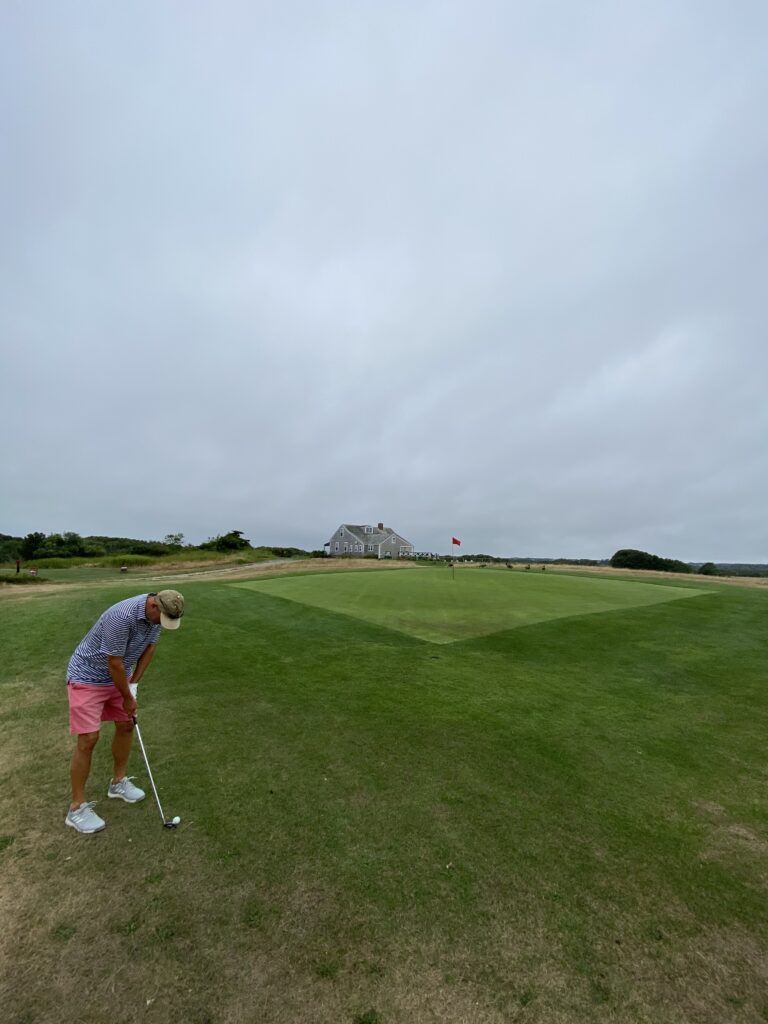 that's a photo I took while golfing with my dad on Nantucket, MA
