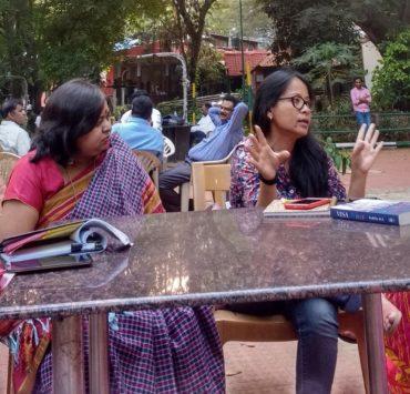 Chitra Ahanthem and Radhika MB cropped