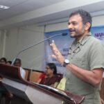 TM Krishna speaks at the inauguration