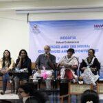 Session 2: Trolling in the times of 'post-truth' (from left): Dhanya Rajendran, Shahina KK, Sasi Kumar (moderator), C Vanaja, AR Meyammei.