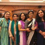 From Kerala, Chithra Ajith, Leela Koomulli, Geetha MK, Geetha Bakshi, Beena Rani.