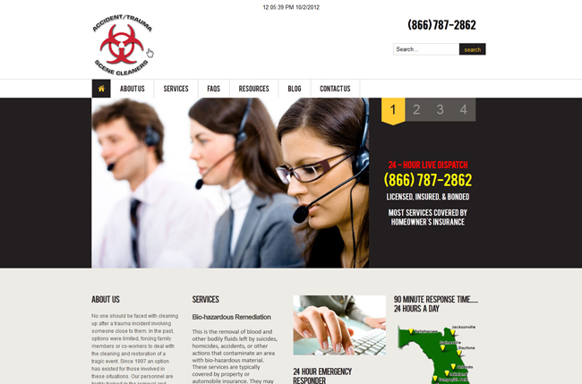 ATS Cleaners BWS WordPress Project