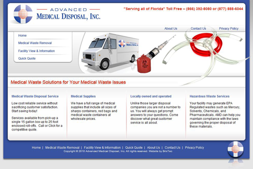 Advanced Medical Disposal