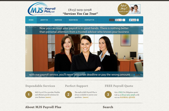 BWS Project - MJS Payroll Plus