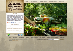 BWS Ecommerce Solutions - Grillin' Woods and Rubs