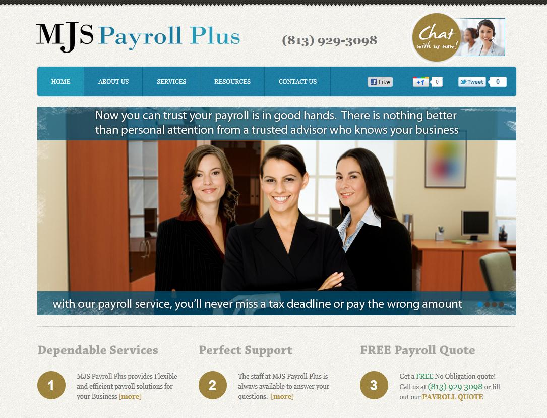 Custom Website Design Tampa - Powered by Joomla