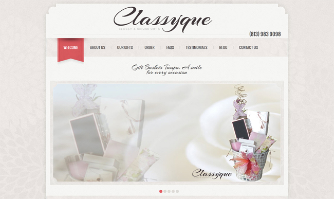 BrixTec Web Solutions Project - Classyque