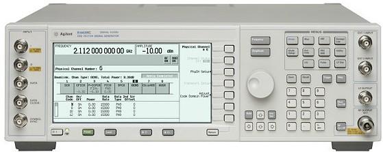 Keysight (Agilent/HP) E4438C 250 kHz - 6 GHz Vector Signal Generator