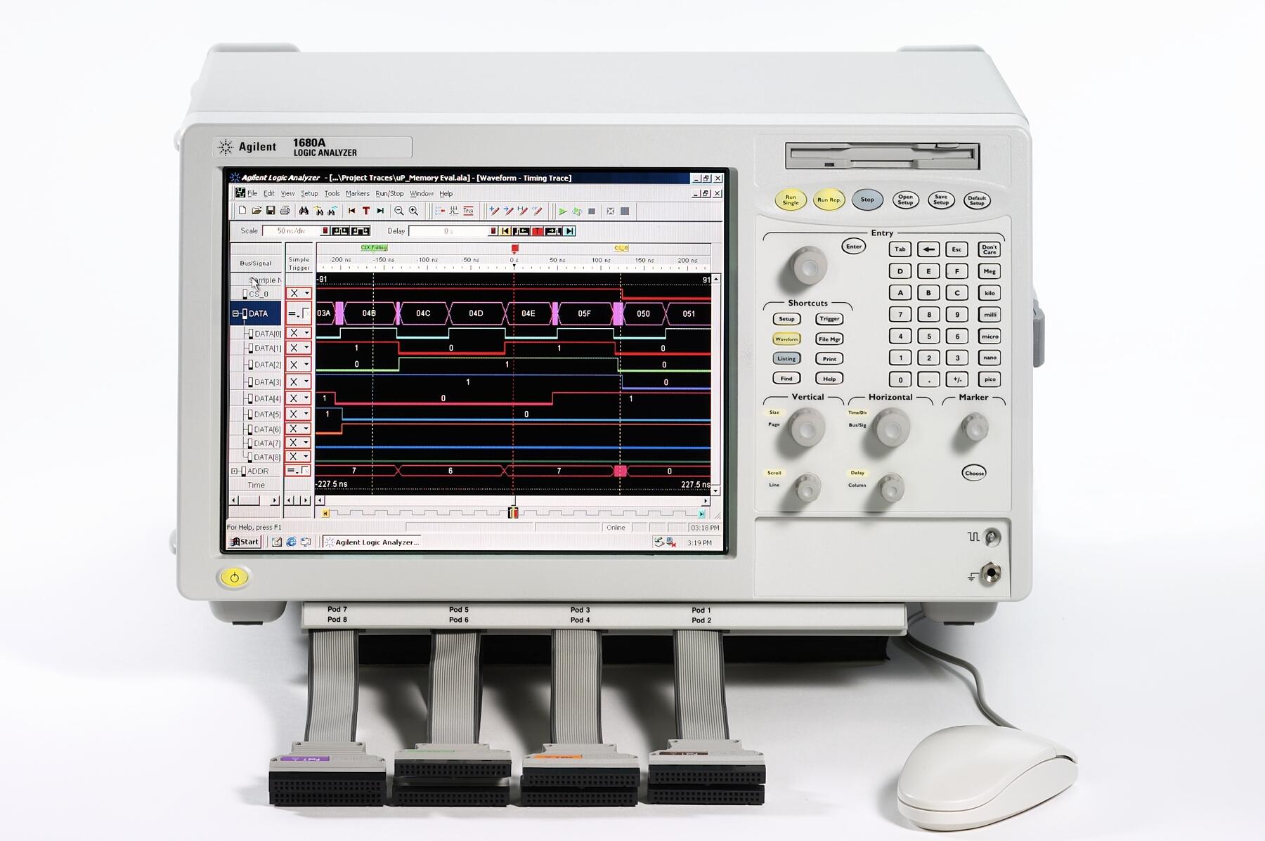 Keysight (Agilent) 1683A 34 Channel Logic Analyzer