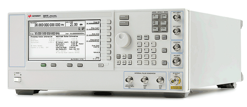 Keysight (Agilent) E8257D PSG Analog Signal Generator, up to 67 GHz