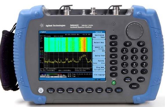 Keysight (Agilent) N9342C Handheld RF Spectrum Analyzer, 7 GHz