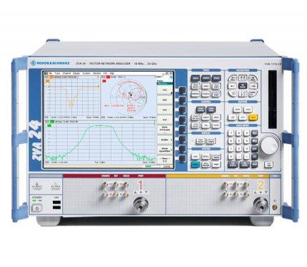 Rohde & Schwarz ZVA24 10 MHz - 24 GHz Vector Network Analyzer
