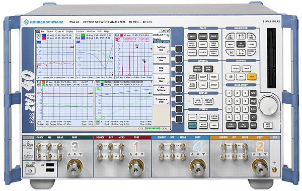 Rohde & Schwarz ZVA40 10 MHz - 40 GHz Vector Network Analyzer