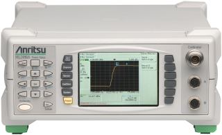 Anritsu ML2496A Dual Input Pulse Power Meter, 1 ns Rise-Time, 1 Gs/s Sample Rate
