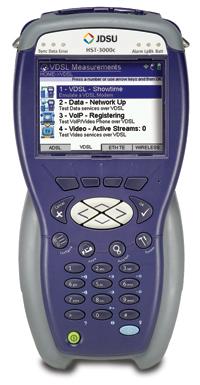 JDSU (Acterna) HST-3000 Network Services Tester for ADSL/VDSL, IPTV, VoIP, Microsoft TV