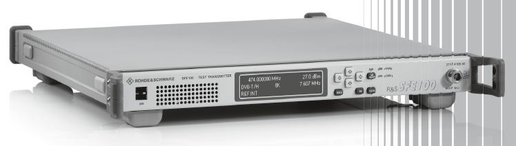 rohde-schwarz-sfe100-03-multistandard-dtv-test-transmitter-with-realtime-coding