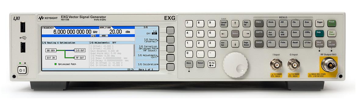 Keysight (Agilent) N5172B RF Vector Signal Generator, up to 6 GHz