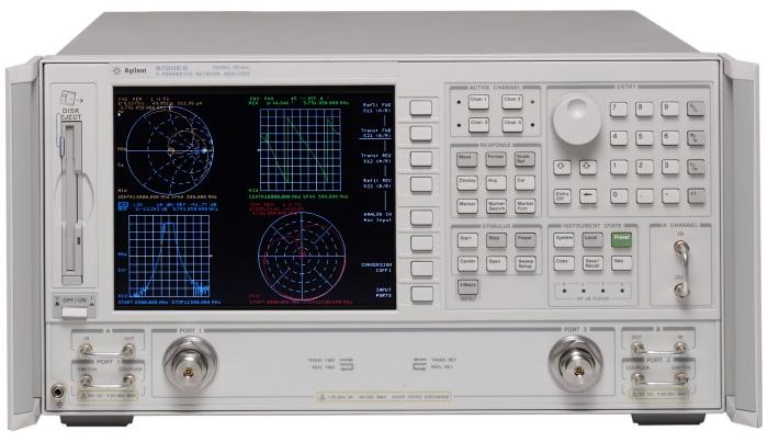 Keysight (Agilent/HP) 8720ES S-parameter Network Analyzer, 50 MHz to 20 GHz