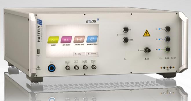Haefely AXOS5 EMC Impulse Generator for Surge, Burst/EFT & Dips, Drops & Interrupts
