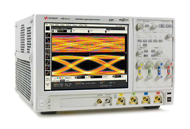 Contact TestWorld Inc. to get the best pricing on a used/refurbished Keysight (Agilent) DSA91304A Infiniium High Performance Oscilloscope: 13GHz, 40 GSa/s. Rental & Lease Options.