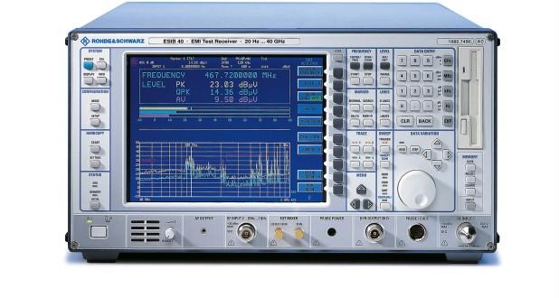 Rohde & Schwarz ESIB40 20 Hz - 40 GHz EMI Test Receiver