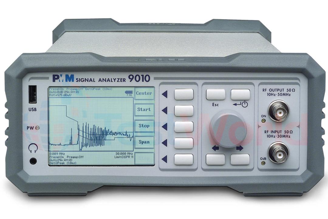 PMM 9010 EMC/EMI Receiver for CISPR 16-1-1 & MIL-STD-461F, 10 Hz - 30 MHz