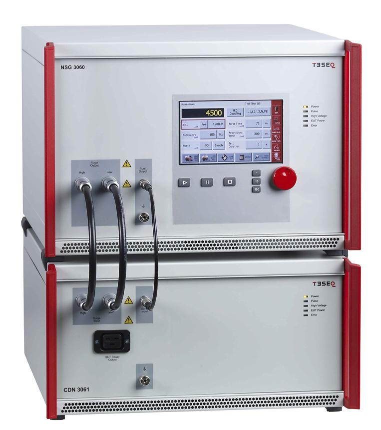Teseq NSG 3060 6kV Conducted Immunity Generator for CE Mark Testing