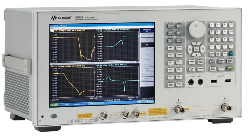Keysight (Agilent) E5061B RF Network Analyzer, 5 Hz to 3 GHz