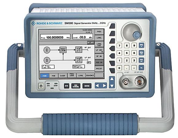 Rohde & Schwarz SM300 Vector Signal Generator for Analog/Digital Modulations