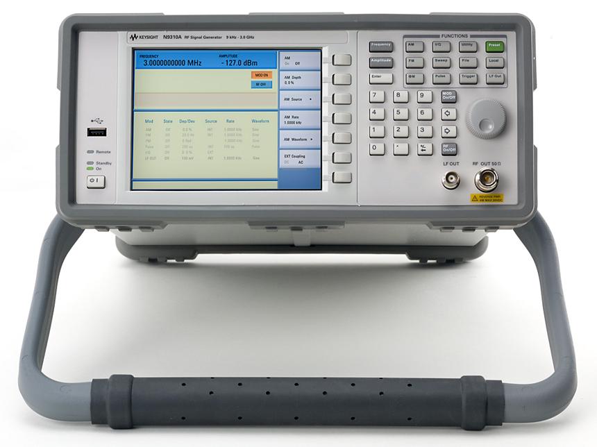 Keysight (Agilent) N9310A General Purpose RF Signal Generator to 3 GHz