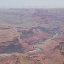 Close up view of Colorado river.