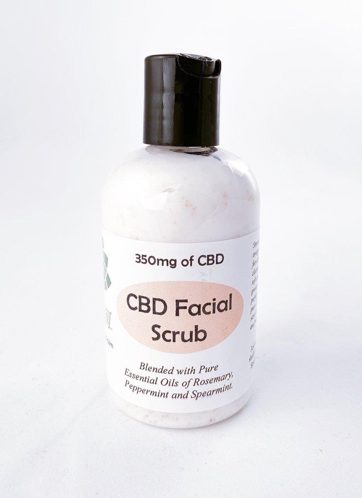 CBD Facial Scrub