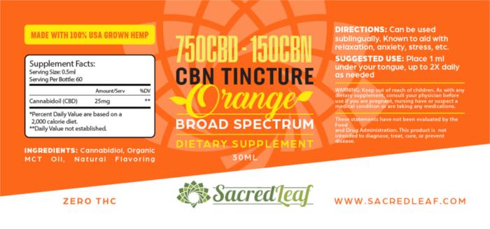 CBN Tincture