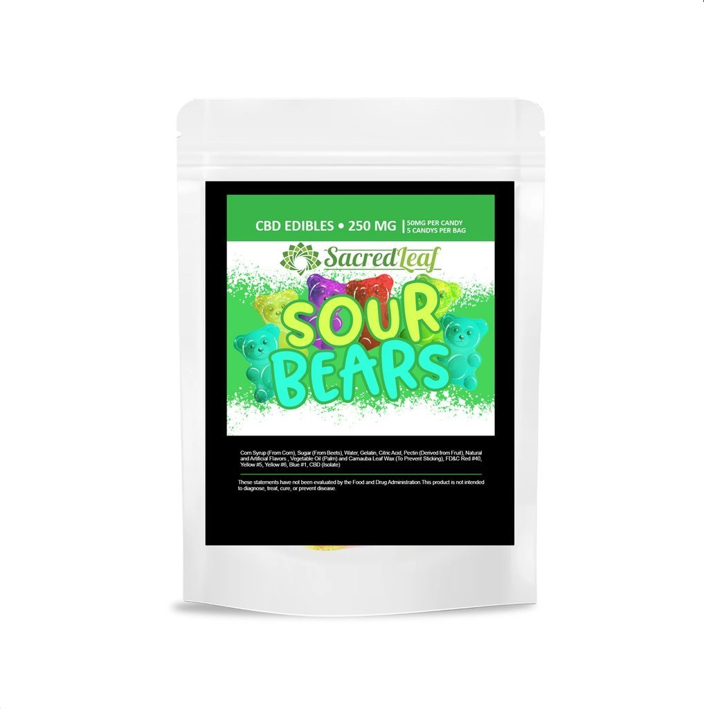 Gummy sour bears