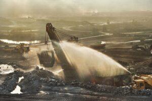 control de polvo en minas de tajo abierto
