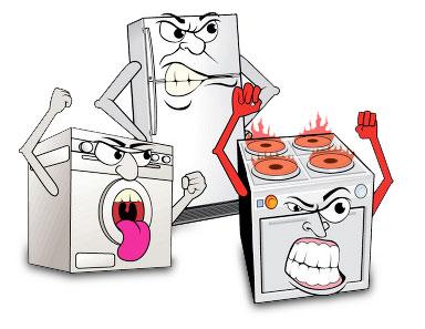 Refrigerator, Stove, Washing Machine Repair