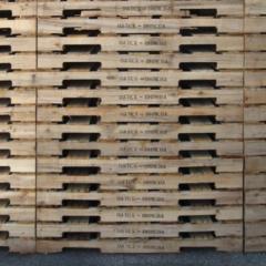 Stenciled Pallets