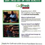 SSI recipients may be eligible for CalFresh Food benefits beginning June 1, 2019