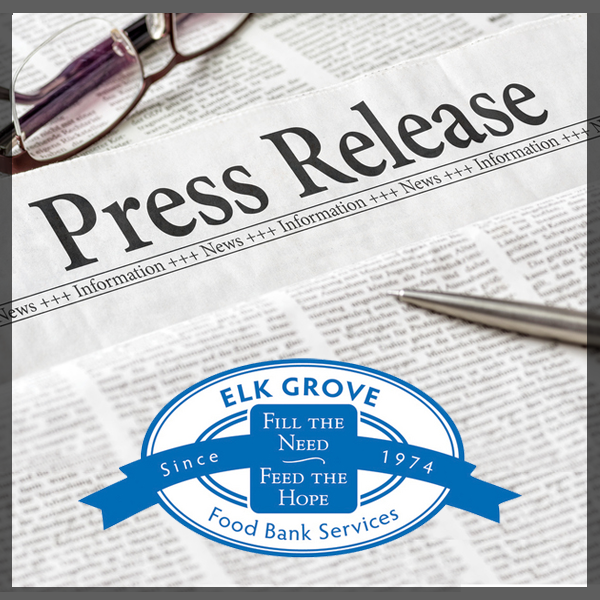 09-13-19: Elk Grove Food Bank Services to Honor Assemblymember Jim Cooper at the Annual Harvest of Hope Gala Dinner for Securing $4 million in State Funds for a Permanent Facility