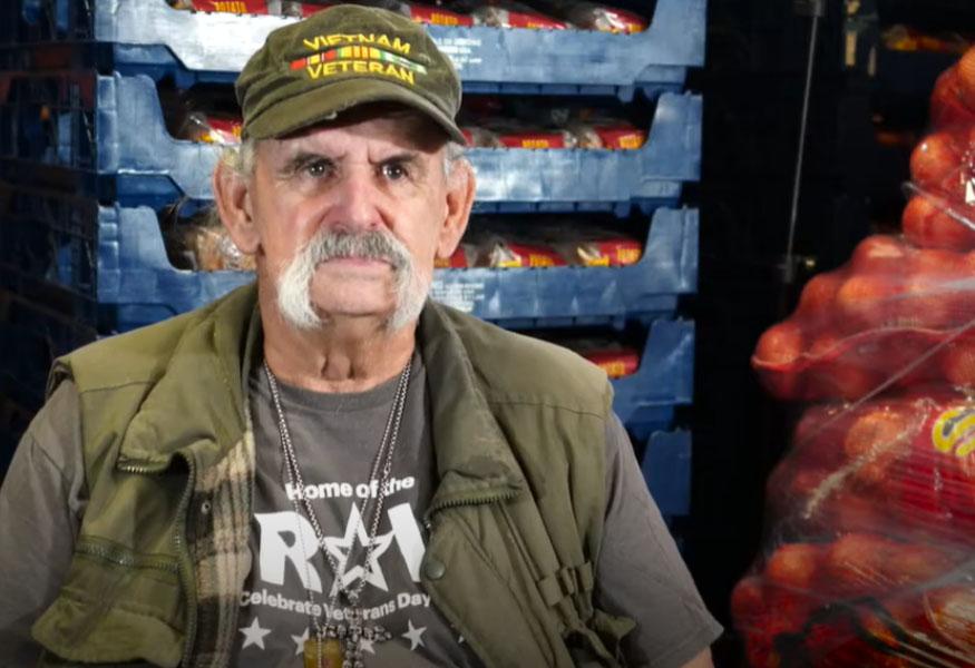 Veteran Frank Silva