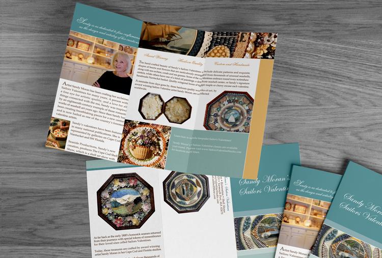 Brochure Design - Artists - Graphic Designer on Cape Cod MA