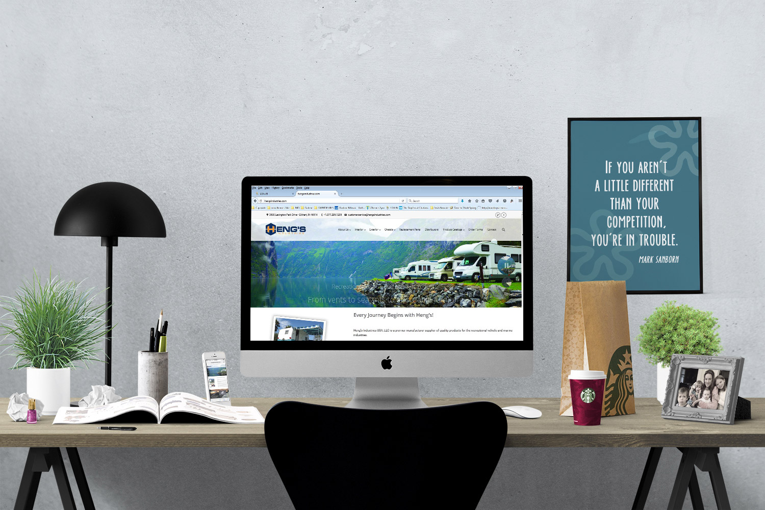 We're different that other companies on Cape Cod and South Shore MA who offer web design, digital marketing and print design services.